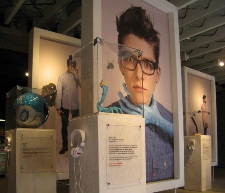 Levi's interactive in-store display. Production and installation by Minki Balinki